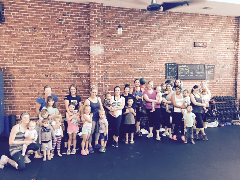 "The ""No Excuse Moms"" group at Martinez Athletic Club. (COURTESY / On File)"