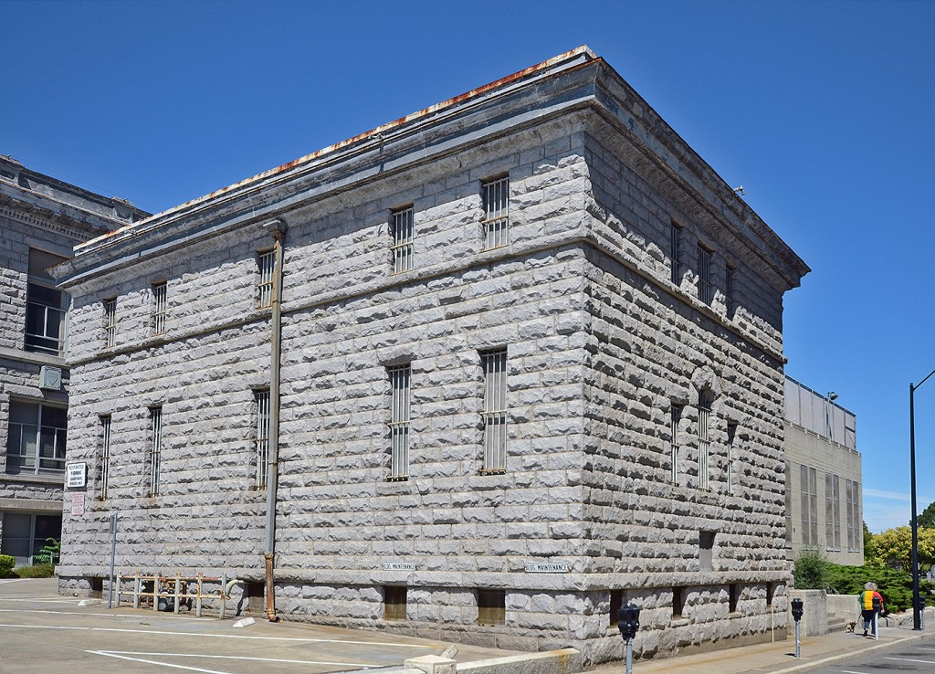 The old county jail, as seen here from the south east corner. (KEVIN MURRAY / Courtesy)