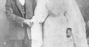 Giovanni Billecci with his wife, Gracia Cardinalli, who was also from Isola delle Femmine. The two were married at St. Catherine's in Martinez on May 31, 1903. (MARY CARONE NICHOLSON / Courtesy)