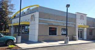 The McDonald's Restaurant on Arnold Drive was robbed at gunpoint late Tuesday evening, Nov. 3, 2015. (DONNA BETH WEILENMAN / Martinez Tribune)