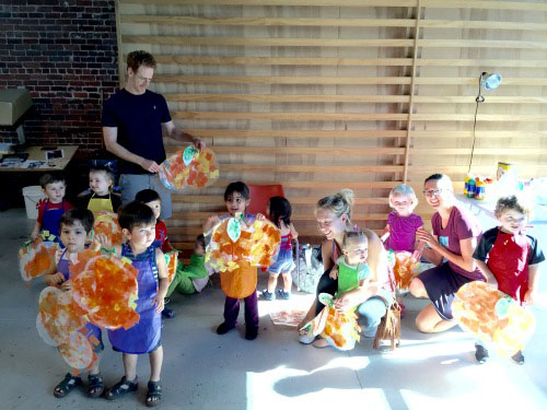 The Toddler Art Class at ARTU4ia, 725 Ward St., Martinez. The class meets Wednesdays at 10 a.m., and is open to children 18 months to 4 years. (COURTESY / On File)