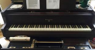 Jim Porter's 1924 Knabe Ampico Reproducing piano. (PAUL CRAIG / Courtesy)