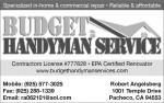 Budget Handyman Service