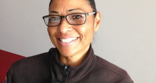 Martinez Police Department's Civilian Employee of the Year, Shelley Tolliver. (D.B. WEILENMAN / Martinez Tribune)