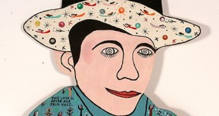 "Howard Finster's piece, ""Hank Williams."" (COURTESY / On File)"