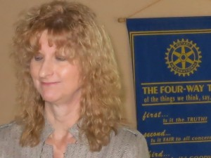 "Martinez author Elizabeth Koehler-Pentakoff (pictured) recently visited the Martinez Rotary Club to talk about her book, ""The Missing Kennedy."" PAUL CRAIG / Courtesy)"