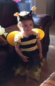 Four-year-old Melody Sullivan-Massuk of Martinez, recently diagnosed with an aggressive, terminal brain tumor. (COURTESY / On File)