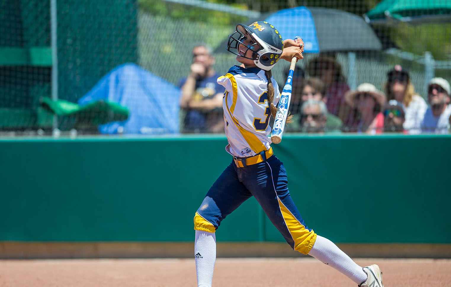 Alhambra's Bri Perez (pictured above in the NCS Division II final in 2015) hit an authoritative .667 in the Reed High School Annual Softball Tournament in Sparks, Nevada from March 25- 27, 2016. Perez had two home runs, six RBI's, four extra base hits and five steals in five tournament games. (NEVILLE GUARD / Martinez Tribune)