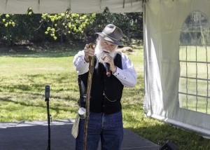 Frank Helling, as John Muir, will reprise his role as the famous conservationist at this year's Birthday-Earth Day celebration April 23 at the John Muir National Historical Site, 4204 Alhambra Ave., Martinez. (TOM ZAMARIA / Courtesy)