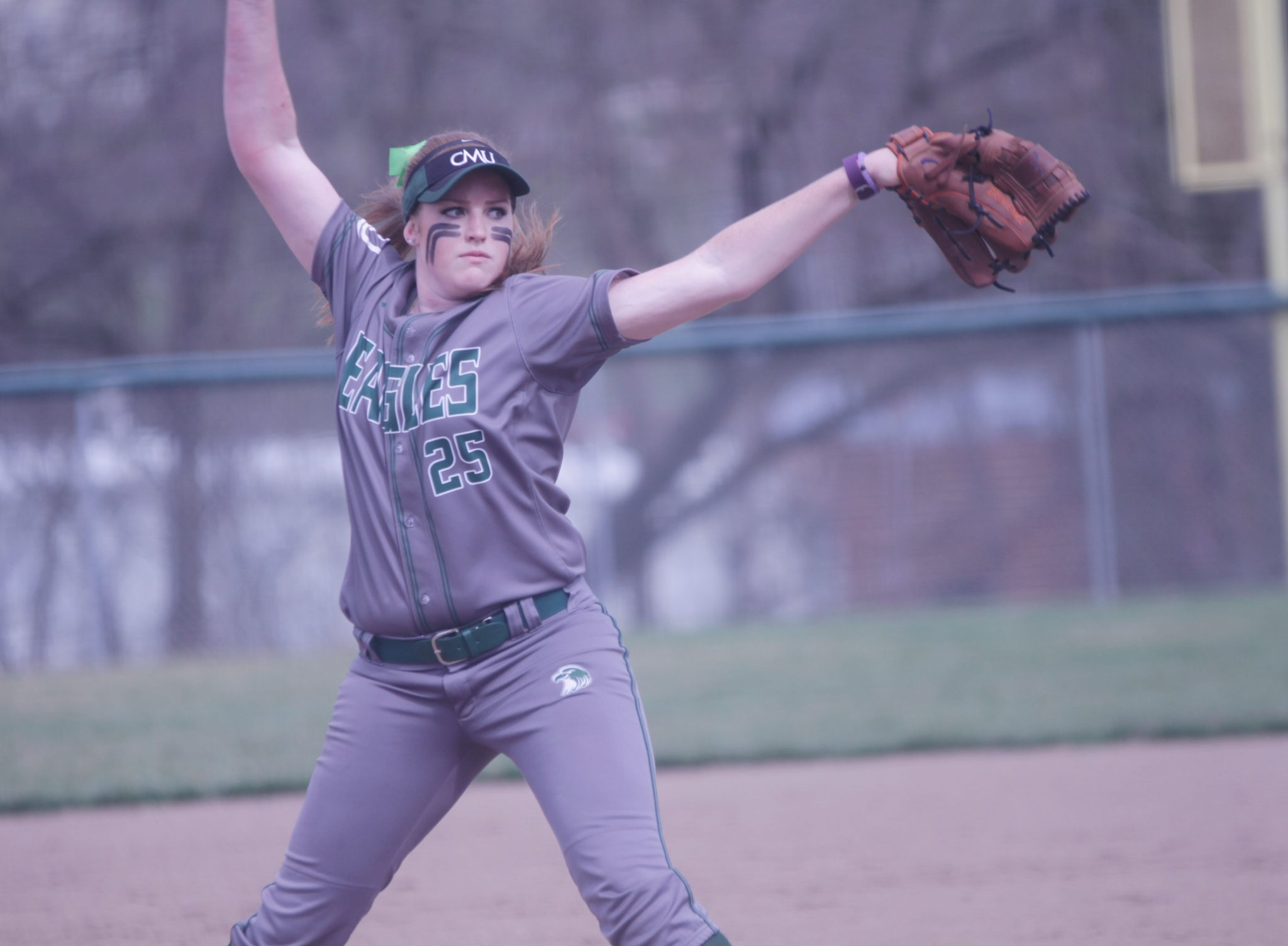 Former Alhambra pitcher and current Central Methodist University right hander Erin Enke was named Heart of America Conference Pitcher of the Week after earning two complete game wins and a save. (CMU SPORTS INFORMATION / Courtesy)