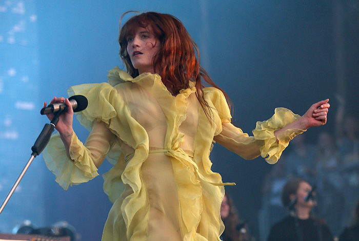 © DANIEL GLUSKOTER Florence Welch of Florence + the Machine performs at BottleRock.