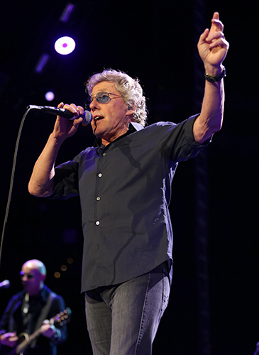 © DANIEL GLUSKOTER Roger Daltrey of The Who performs in Oakland.