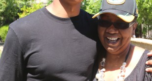 Trevor Davis and his mother, Linda-Norman Davis, celebrate the Alhambra alum getting drafted by the Green Bay Packers. (ON FILE / Courtesy)