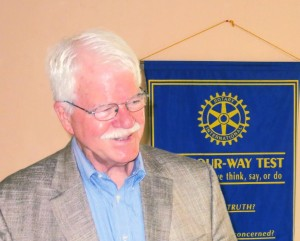 Congressman Emeritus, George Miller, at a recent meeting of Martinez Rotary. (PAUL CRAIG / Courtesy)