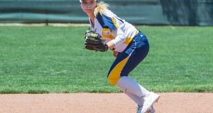 """June 6, 2015 Alhambra Bulldogs vs Redwood Giants women's NCS Softball championship win 4 to 2"""
