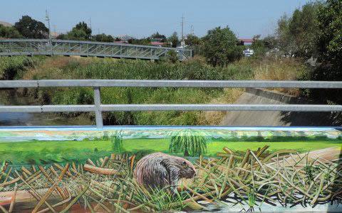 beaver-mural