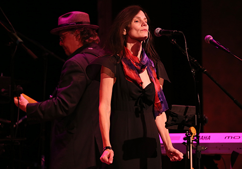 © DANIEL GLUSKOTER Mary Ramsey and 10,000 Maniacs perform at Yoshi's in Oakland on Saturday.