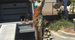 One of the statuaries recovered from a residential burglary on Alhambra Valley Road. (CCCOS / Courtesy)