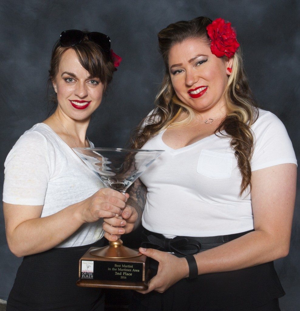 Julie Arndt and Dani Mercado of Back 40, who took second place. (RICHARD CASH / Courtesy)