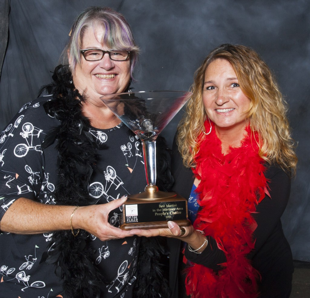 Cindy Shelby and Laura Philpot of the Martinez Yacht Club, who won the People's Choice award. (RICHARD CASH / Courtesy)