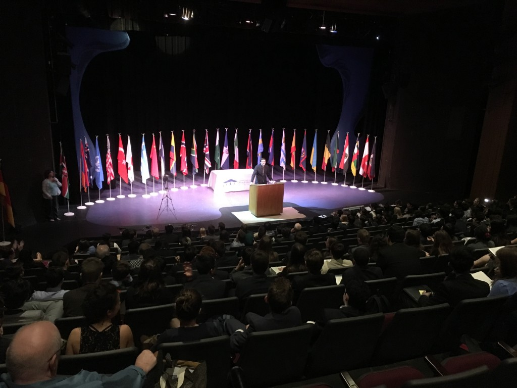 The Model UN Closing Ceremony. (JONATHAN LANCE / CCCOE)