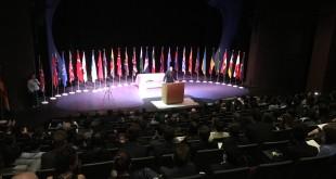 The Model UN Closing Ceremony. (JONATHAN LANCE / CCCOE)