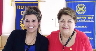 "Martinez Senior Center Supervisor Gina Lombardi Gravert (at left), with Barbara Turcios, who is active in the Center and a staunch supporter of ""Meals on Wheels."" (PAUL CRAIG / Courtesy)"