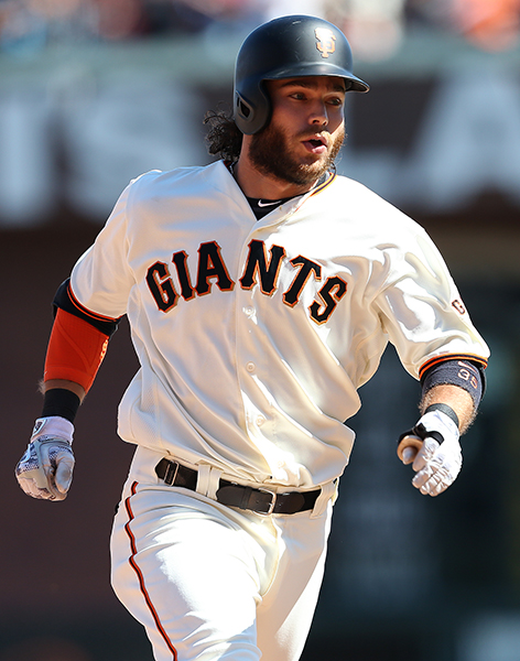 © DANIEL GLUSKOTER Brandon Crawford has developed into one of the best shortstops in Baseball  after five seasons with the Giants, and is coming off a Gold Medal winning MVP caliber performance in the World Baseball Classic.