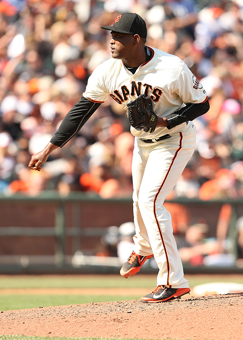 ©DANIEL GLUSKOTER Santiago Casilla moves back across the Bay after seven years and three World Series titles with the Giants.