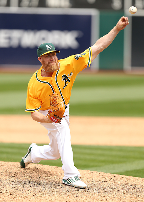 ©DANIEL GLUSKOTER Sean Doolittle hopes to regain the form that led to an All-Star Game selection in 2014.