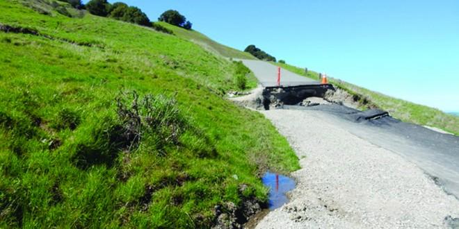 Rocky Ridge Trail slide. (COURTESY / On File)