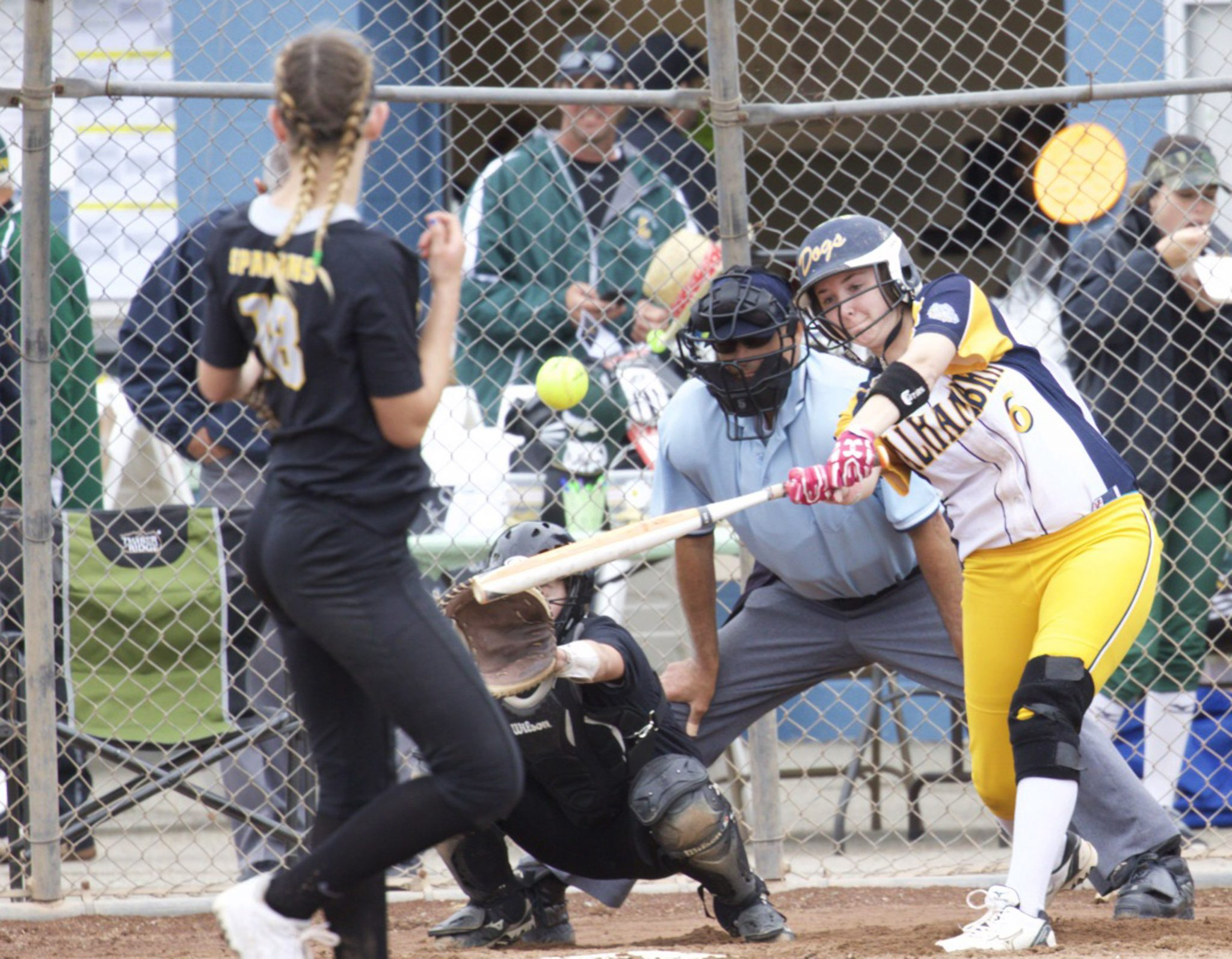 First baseman Regan Silva had an RBI-double in the win. (MARK FIERNER / Martinez Tribune)