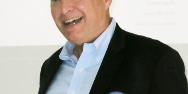 John Muir Land Trust Executive Director Linus Eukel at Martinez Rotary. (PAUL CRAIG / Courtesy)