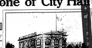 "An old picture from the ""Martinez Standard"" newspaper of the ""new City Hall building"" at 525 Henrietta St., Martinez. (ON FILE)"