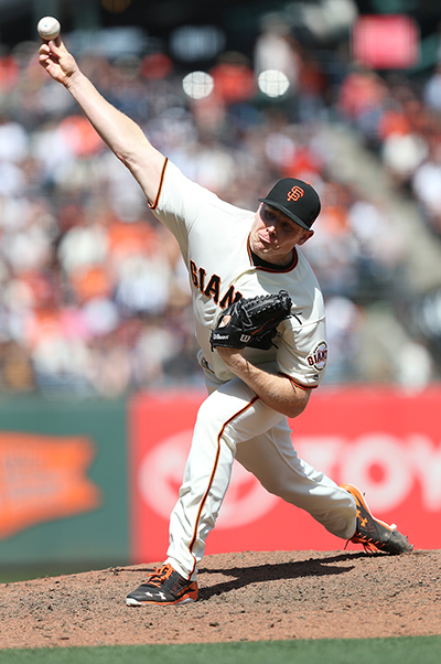 ©DANIEL GLUSKOTER The Giants need to have Mark Melancon bounce back from an injury plagued 2017 season. Melancon struggled with only 11 saves and a 4.50 ERA after signing a 4 year, $ 62 million contract after pitching for the Pirates and Nationals in 2016.