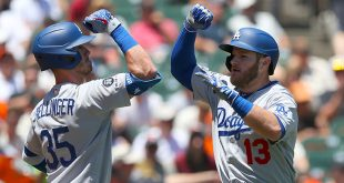 NL playoffs shaping up as a race to topple the Dodgers