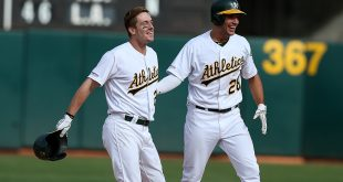 Canha's 11th inning walk-off gives A's 1-0 win in pitchers duel