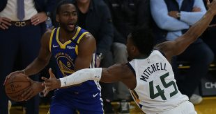 Warriors embarrassed by Utah 129-96 as slide continues