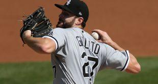 Giolito's gem silences A's bats as Luzardo fails in WC opener