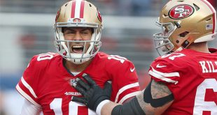 49ers drafting of QB Lance accelerates transition from Jimmy G