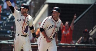 Giants smacked by Phillies 13-6 but still the story of Baseball
