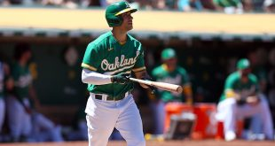 Olson's two home run day helps lead A's past the Royals 6-3