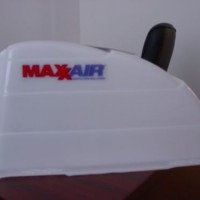 Maxx Air White Roof Vent Cover.MOTOR HOME OR TRAIL