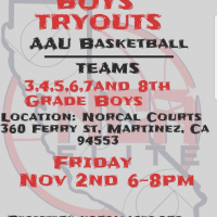 Nor-Cal Aces Youth Basketball Try-outs